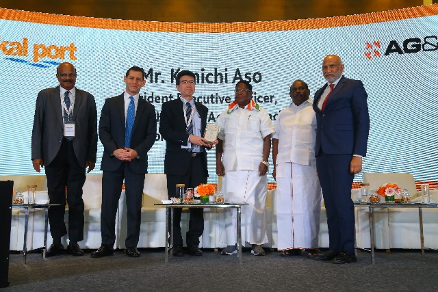 AG&P breaks ground on its LNG import facility at Karaikal Port