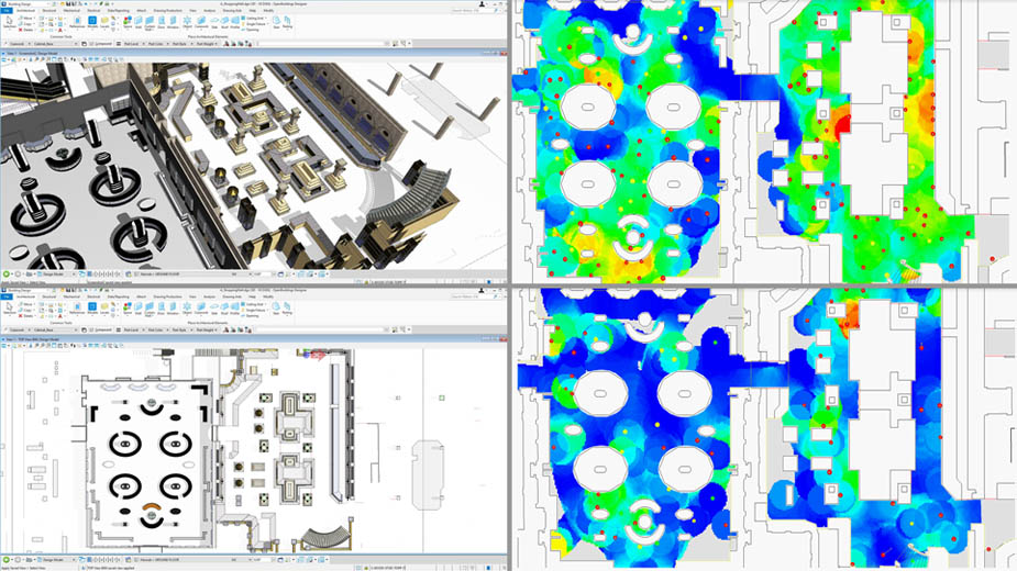 To Help Building and Facilities Managers Meet the Demands of Social Distancing, Bentley Systems Opens Up Full Access to LEGION Simulator and OpenBuildings Station Designer and Waives Subscription Fees through September 30
