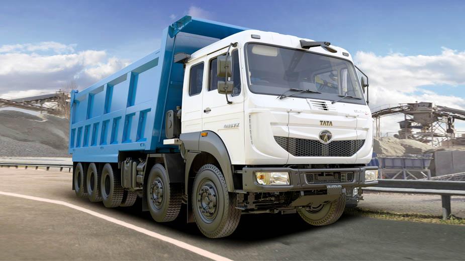 Tata Motors introduces India's largest tipper truck, the Signa 4825.TK