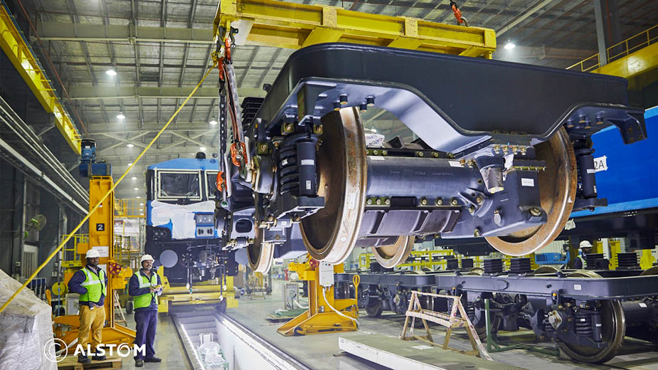 Alstom's WAG 12B e-locos become India's first freight locomotives approved to run at 120 kmph