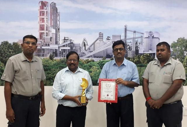 Ramco Cements receives Best Community Development Award for its fight against Covid-19