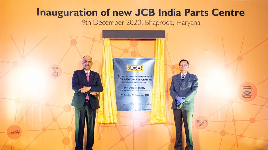 JCB India inaugurates its largest Parts Centre at Bhaproda, Haryana