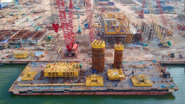 Reliance and bp commission India's first ultra-deepwater gas project