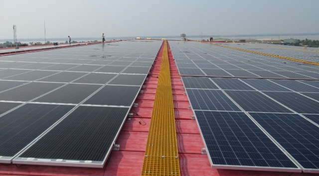 Vikram Solar commissions rooftop solar project at its manufacturing facility in West Bengal