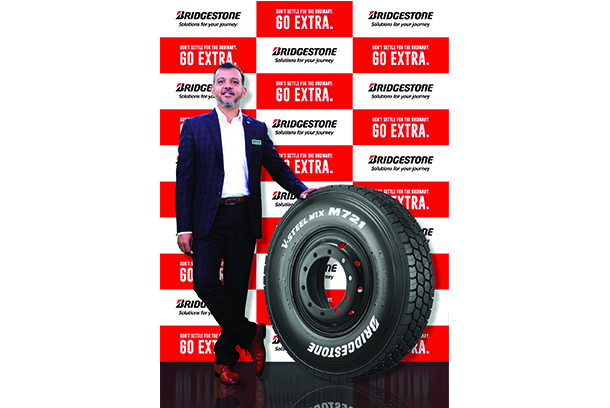 Bridgestone India launches New Tyre V-STEEL Mix M721 for commercial vehicles