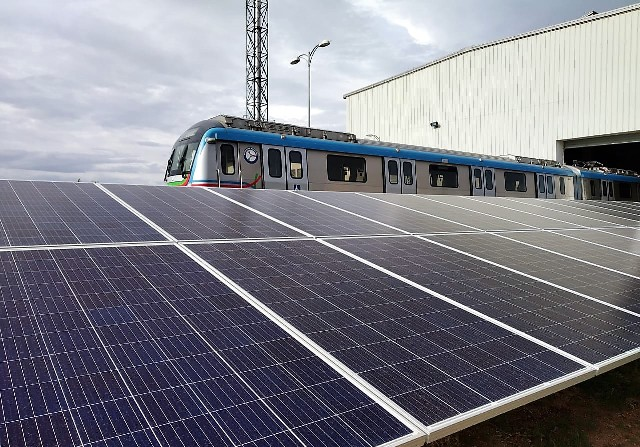 Amp Energy India powers L&T Metro Rail Hyderabad with solar