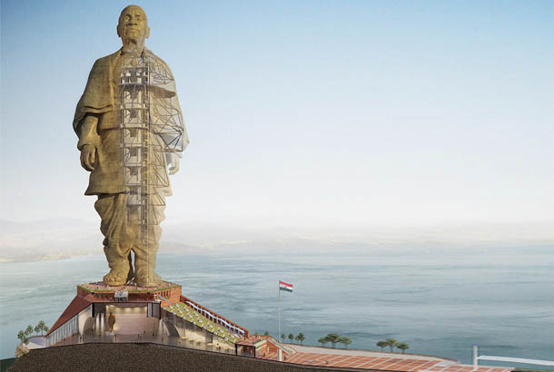 Tekla Software helps Eversendai complete Statue of Unity's construction two months ahead of schedule