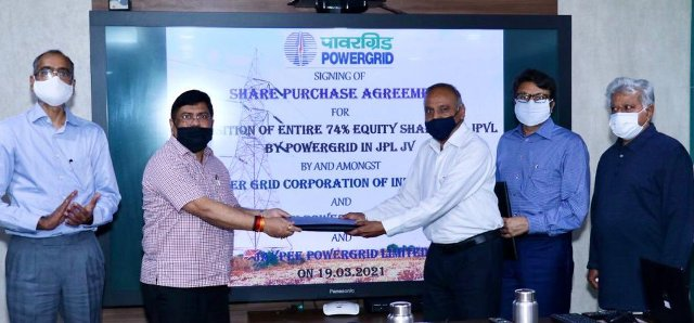 POWERGRID signs agreement to acquire 74% stake in Jaiprakash Power Ventures