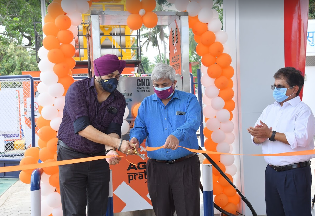 AG&P Pratham opens the first two CNG stations in Alappuzha, Kerala