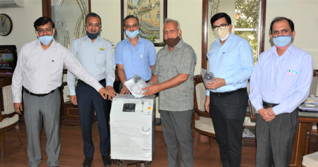 National Engineering Industries donates 100 oxygen concentrators to Rajasthan Government