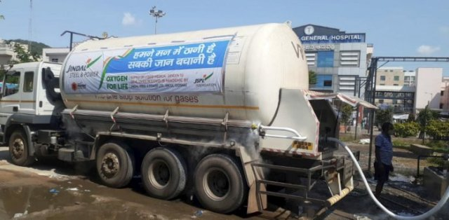 JSPL supplies LMO tankers to the Government of Odisha