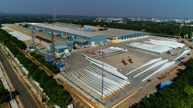 GE Renewable Energy's LM Wind Power produces 44,444th wind turbine blade in India