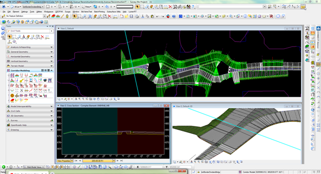 Foth uses digital engineering to deliver large infrastructure project in Cedar Falls, Iowa