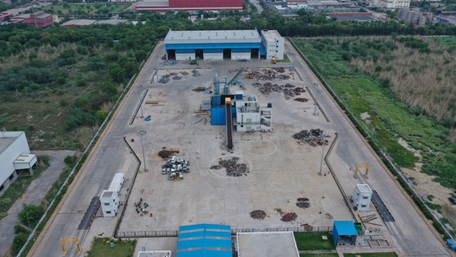 Tata Steel commissions its first steel recycling plant in Rohtak, Haryana